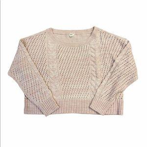 EUC GARAGE Cable Knit Oversized Sweater Size M